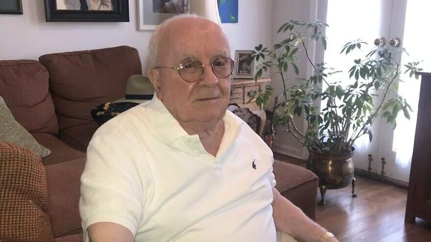 Judah Samet, 82, is a Holocaust survivor, former Israeli paratrooper and more recently a survivor of the Tree of Life mass shooting in 2018. Credit: Courtesy.