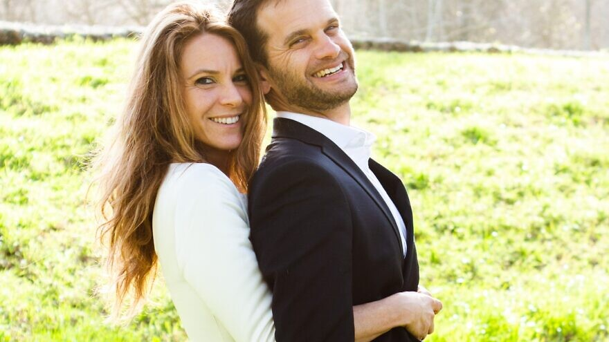 Ryan and Michal, a recent JWed Marriage