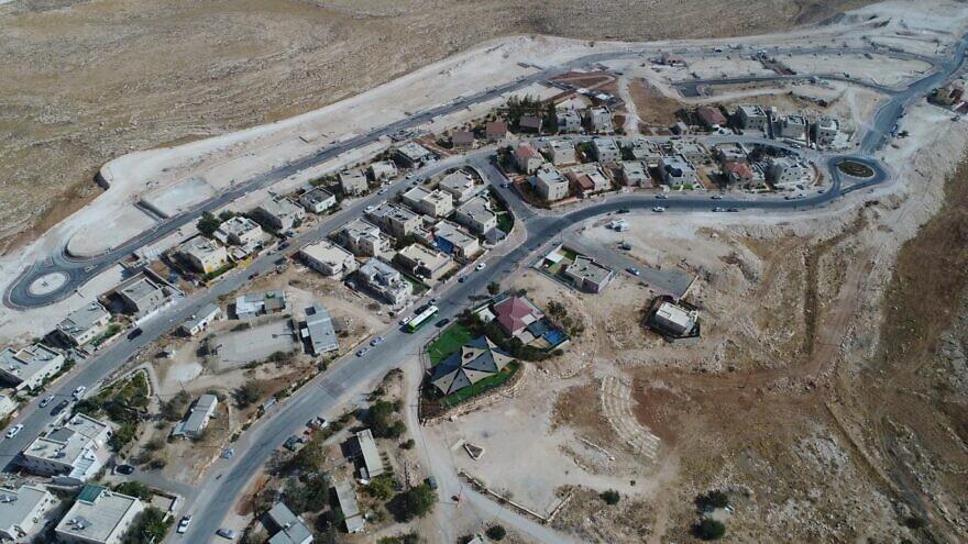 Metzad in the Gush Etzion settlement bloc. Credit: Gush Etzion Regional Council.