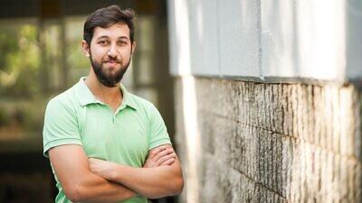 Graduate student Jacob Kher-Alden, Technion-Israel Institute of Technology. Credit: Courtesy.