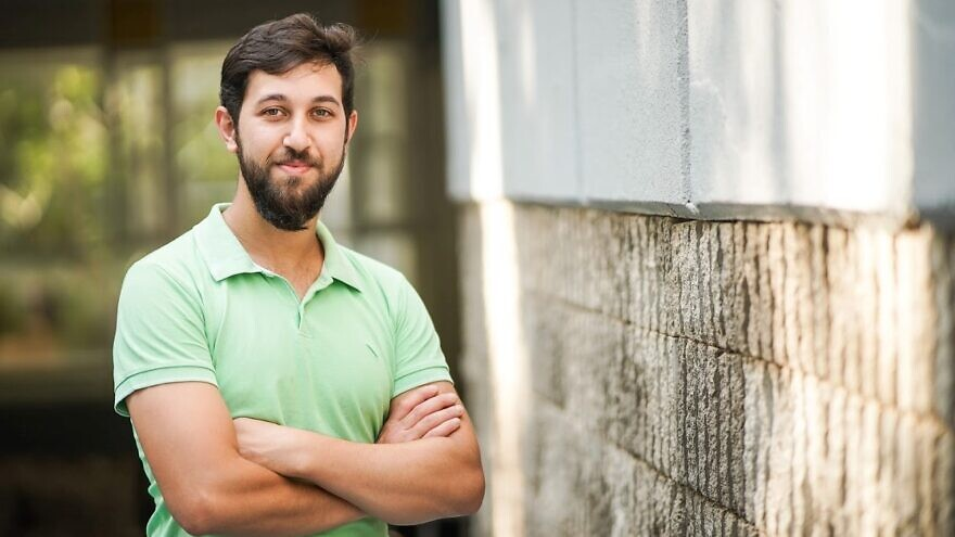Graduate student Jacob Kher-Alden, Technion-Israel Institute of Technology. Credit: Courtesy.