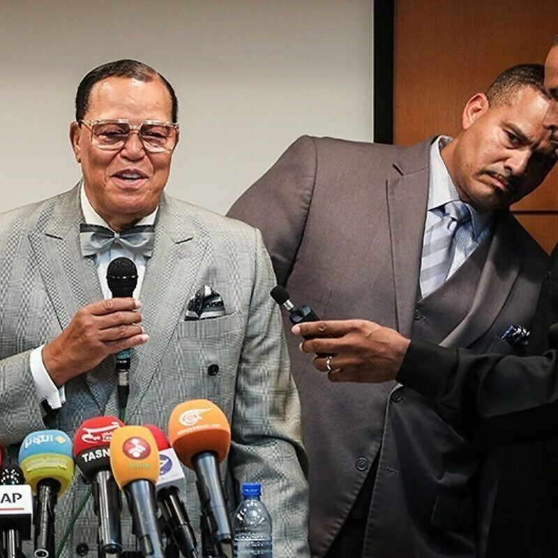 Louis Farrakhan in 2018. Credit: Wikimedia Commons.