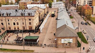 The Riga Ghetto and Latvian Holocaust Museum. Credit: Shamir Association.