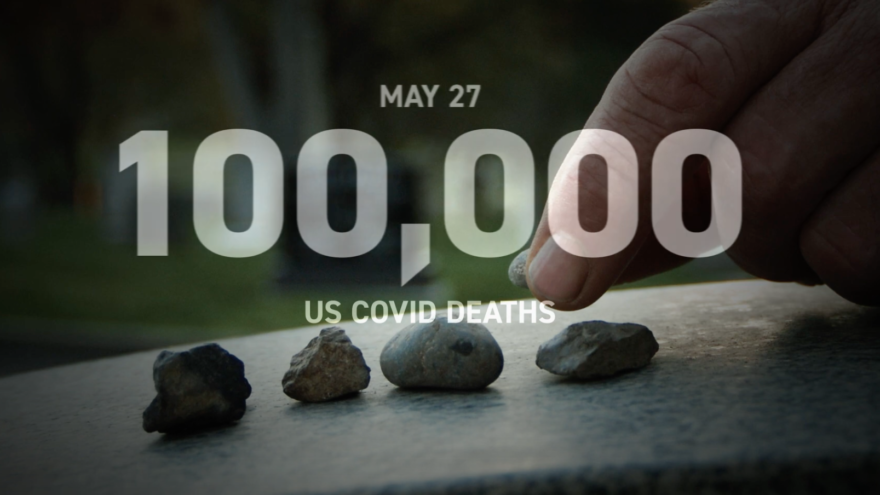 The Jewish Democratic Council of America released an ad on Oct. 6, 2020, featuring the Jewish mourner's Kaddish in slamming U.S. President Donald Trump's response to the coronavirus pandemic. Source: Screenshot.