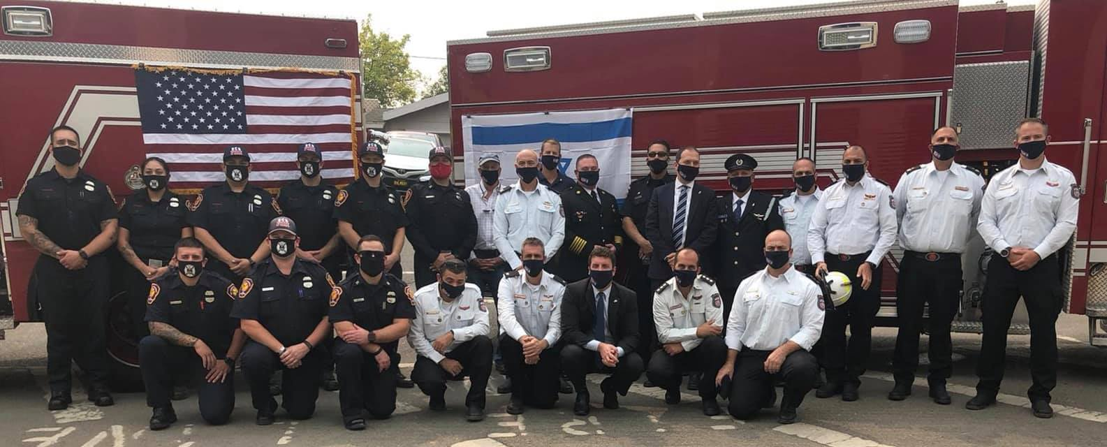 Israeli, Californian Firefighters Become Band Of Brothers 2