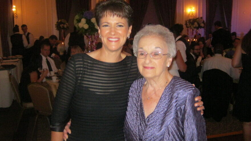 Andrea Wedner, 63, and her mother Rose Mallinger, 97, who was shot and killed during the lone gunman attack on the Tree of Life*Or L'Simcha Synagogue on Oct. 27, 2018. Credit: Courtesy.
