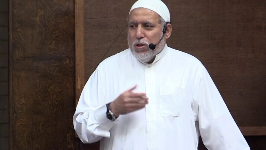Imam Shaker Elsayed of the Dar Al-Hijrah Islamic Center in Fairfax, Va. (MEMRI)