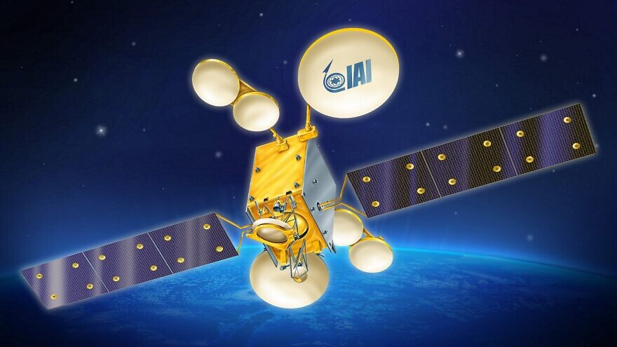 Artist's rendition of the Dror 1, which will be the most advanced communication satellite built in Israel to date. Credit: Israel Aerospace Industries.