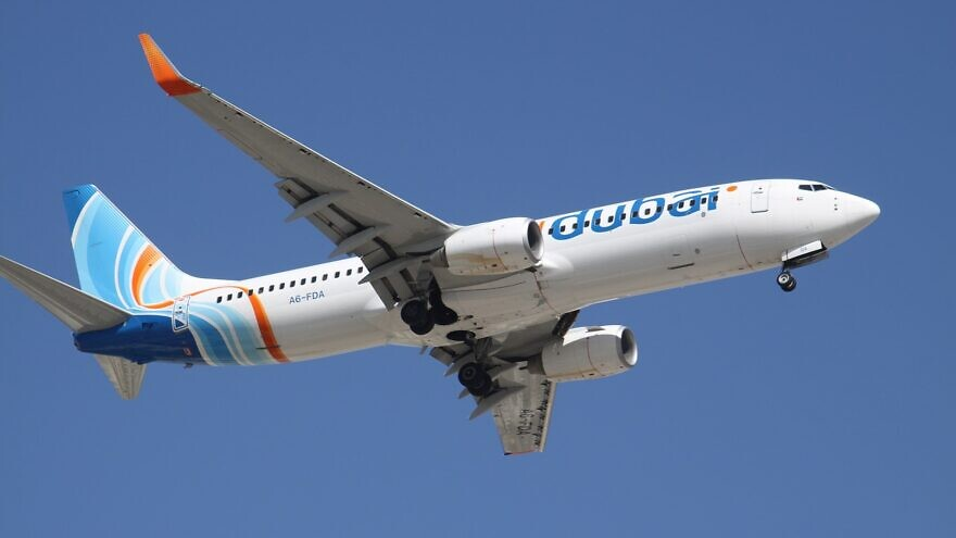 Flydubai Boeing 737-800. Credit: Wikipedia.