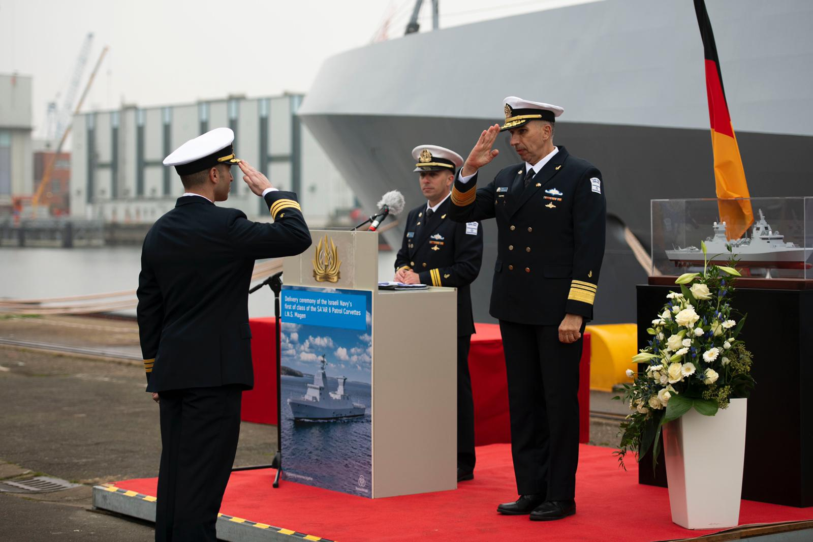 Israeli Navy Commissions Its Most Advanced Warship Ever 4