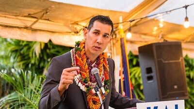 Congressman-elect Kai Kahele of Hawaii's 2nd Congressional District. Credit: Team Kahele/Flickr.