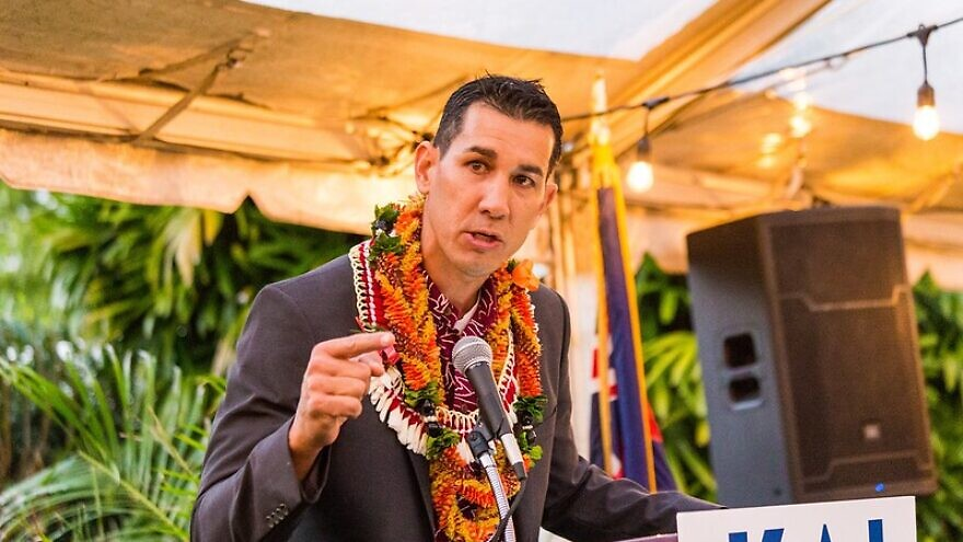 Congressman-elect Kai Kahele of Hawaii's 2nd Congressional District. Credit: Team Kahele/Flickr.