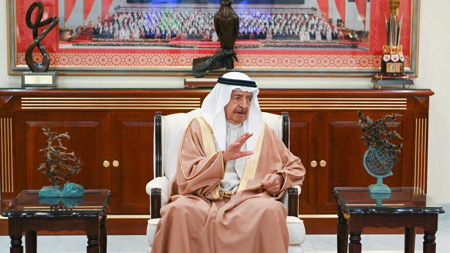 Bahraini Prince Khalifa bin Salman Al Khalifa, May 31, 2020. Photo: Bahrain News Agency.