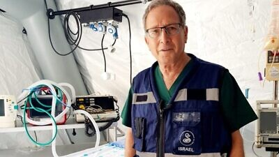 Israeli orthopedic surgeon Dr. Elhanan Bar-On, head of the Israel Center for Disaster Medicine and Humanitarian Response. Credit: Sheba Medical Center.