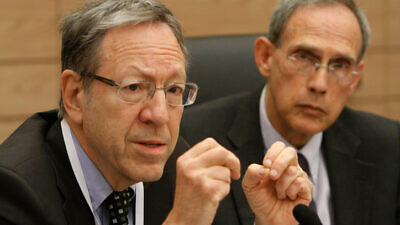 Irwin Cotler in 2012. Photo by Miriam Alster/Flash90.