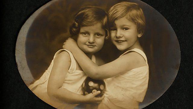 Hannah and Giora Senesh (Szenes), 1924. Credit: National Library of Israel's Hannah Senesh Archival Collection.