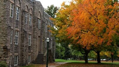 Hepburn Hall at St. Lawrence University in Canton, N.Y. Credit: Wikimedia Commons.