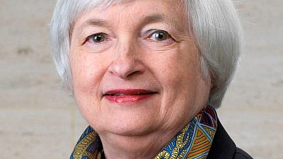 Janet Yellen. Credit: U.S. Federal Reserve via Wikimedia Commons.