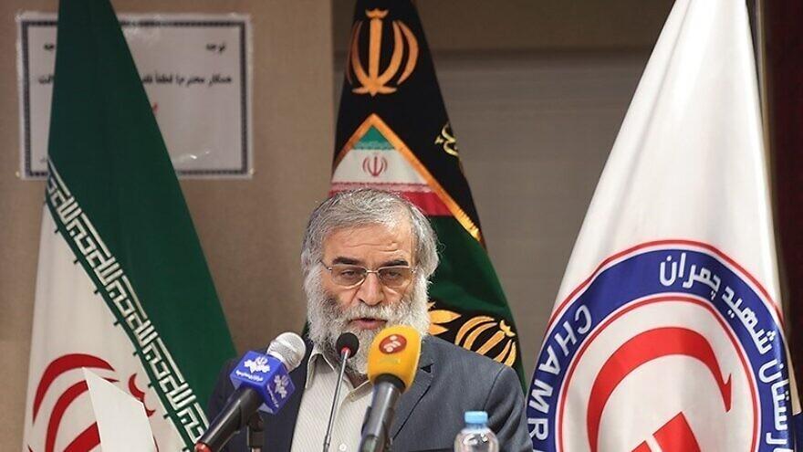 Iranian nuclear scientist Mohsen Fakhrizadeh. Credit: Tasnim News Agency via Wikimedia Commons.