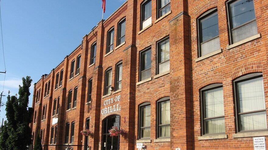 Orillia City Hall in Orillia, Ontario, Canada. Credit: Wikimedia Commons.