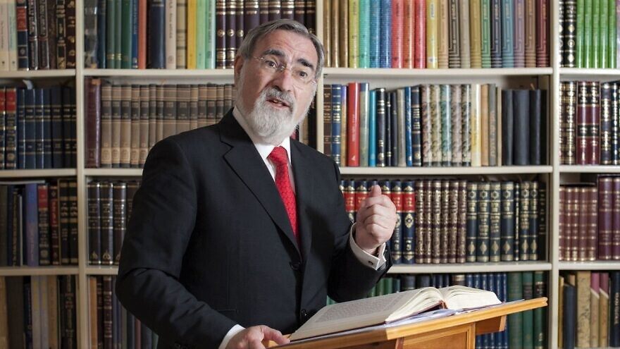 Rabbi Lord Jonathan Sacks. Credit: Office of Rabbi Sacks (rabbisacks.org/about-us/).