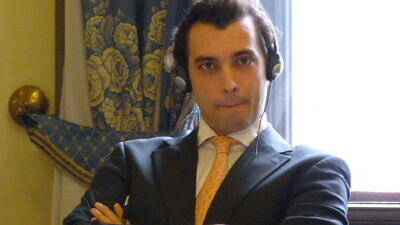 Dutch politician Thierry Baudet, leader of the Forum for Democracy Party. Credit: Wikipedia.