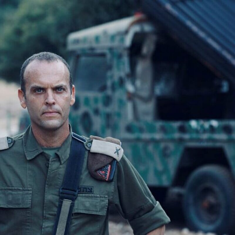 IDF Brig. Gen. Shlomi Binder. Photo by Oren Cohen.