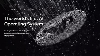 A promotional image of BlackSwan Technologies AI software. Source: BlackSwan Technologies/Facebook.