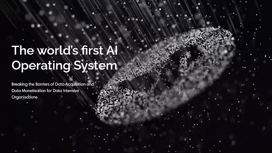 A promotional image of BlackSwan Technologies AI software. Source: BlackSwan Technologies/Facebook.