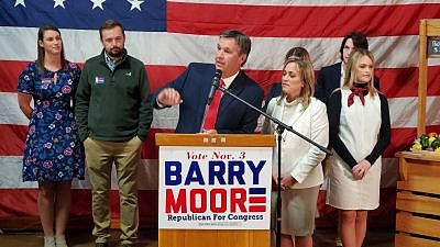 Rep. Barry Moore (R-Ala.). Credit: Barry Moore Republican for Congress/Facebook.