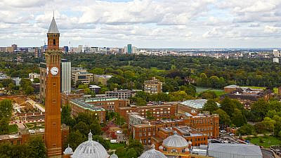 University of Birmingham. Credit: Mingkai Zhang via Wikimedia Commons.