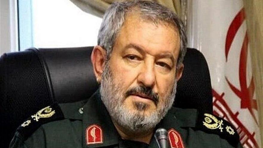 Iranian Brig. Gen. Abdolrasool Ostovar. Source: Twitter.