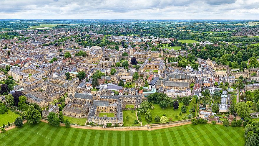 The University of Oxford in England. Credit: Wikimedia Commons.