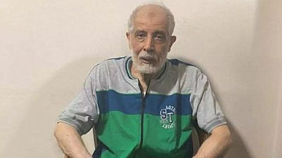 Egyptian security forces arrested Mahmoud Ezzat, the acting guide of the Muslim Brotherhood in Egypt and the head of its military wing, in August 2020. Source: Egyptian press.