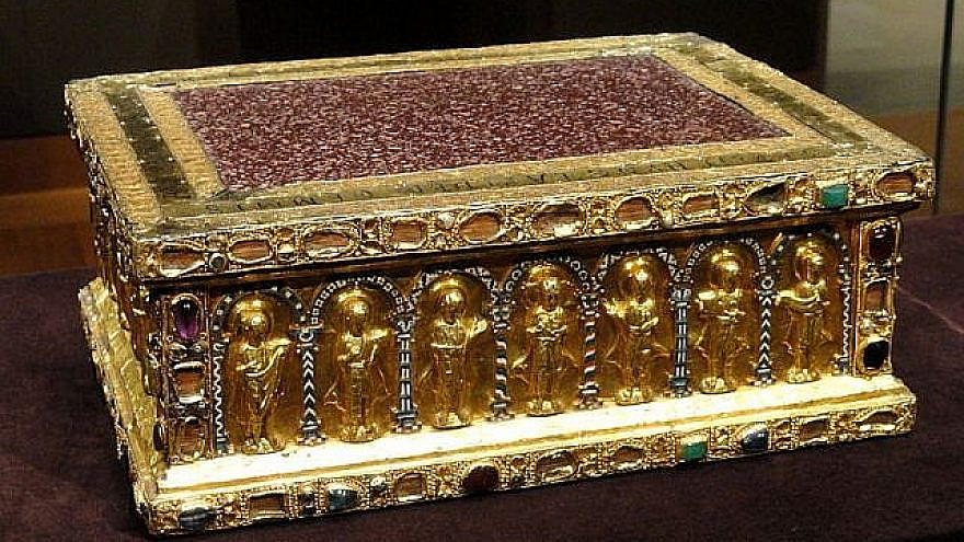 Portable Altar of Countess Gertrude (circa 1038) from the Guelph Treasure. Credit: CC via Wikipedia.