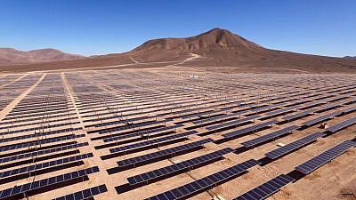 Energy innovation in Israel's Negev Desert. Photo courtesy of DeserTech.
