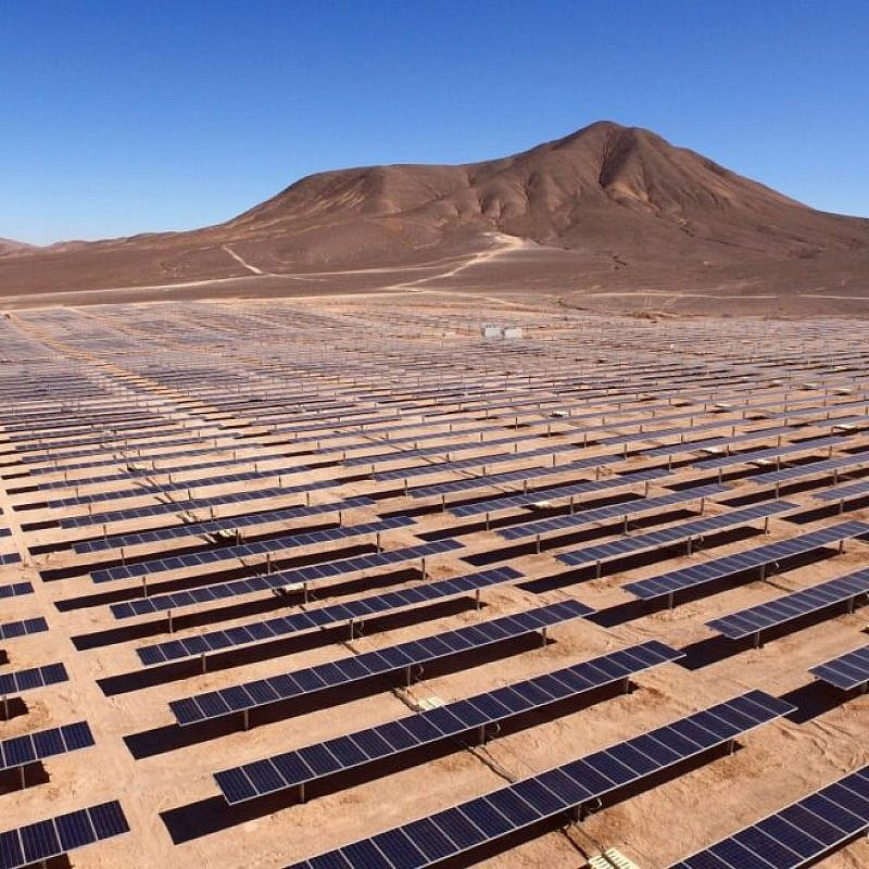 Energy innovation in Israel's Negev Desert. Photo courtesy of DeserTech.