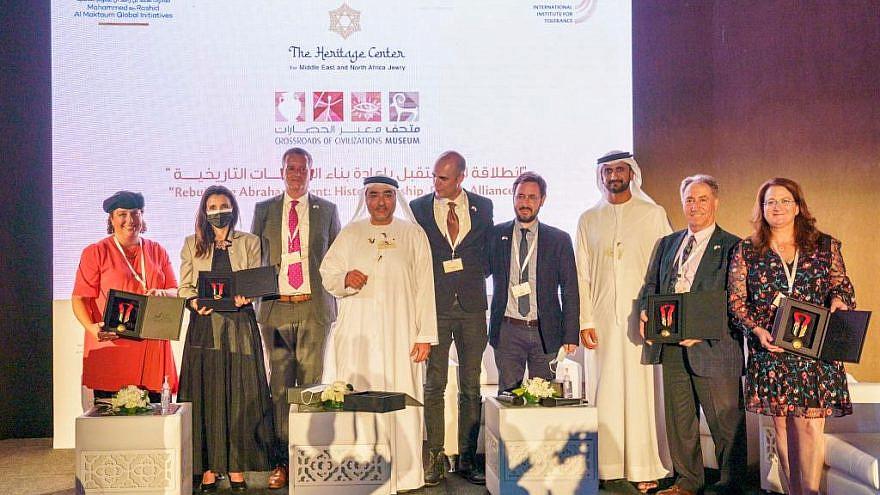 Dubai's Crossroads of Civilizations Museum event on Dec. 6, 2020. Credit: Mustafa Fardan.