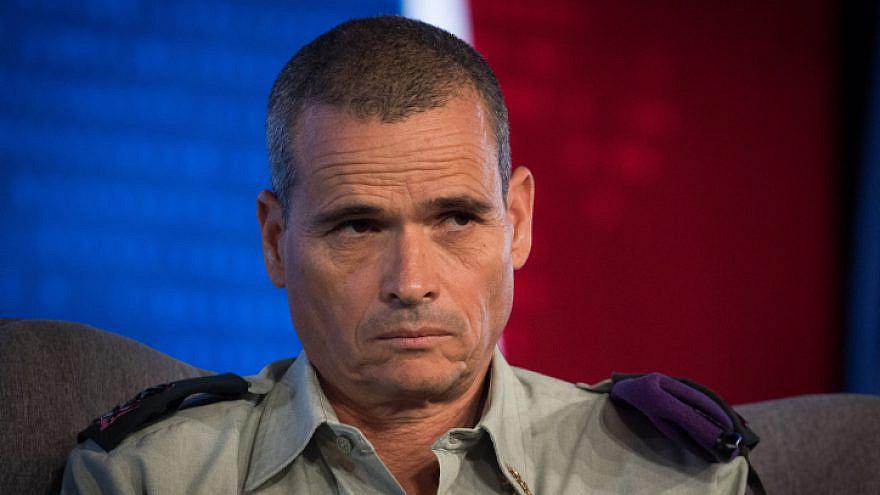 IDF Maj. Gen. Yoel Strick. Photo by Yonatan Sindel/Flash90.