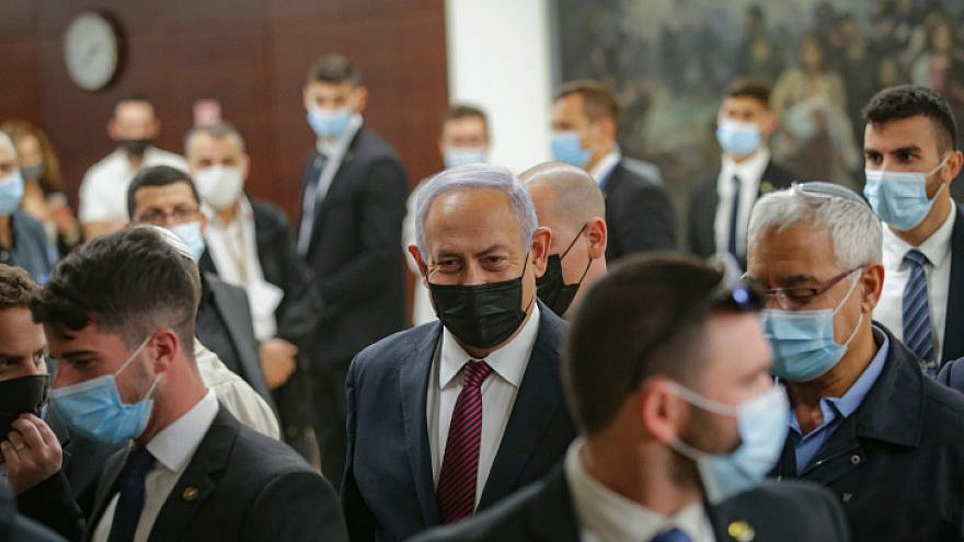 Israeli lawmakers pass proposal to dissolve parliament