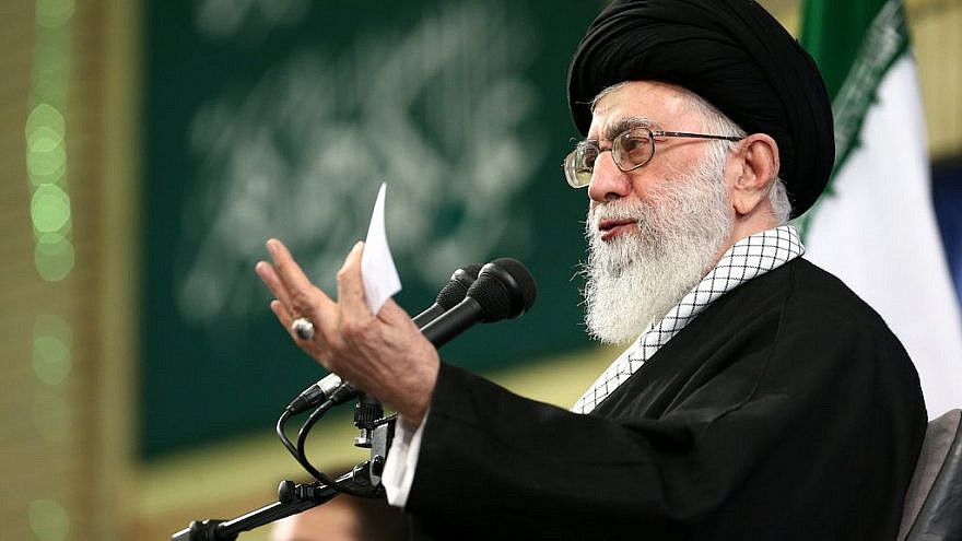 Iran's Supreme Leader Ali Khamenei, Feb. 6, 2016. Credit: Wikimedia Commons.