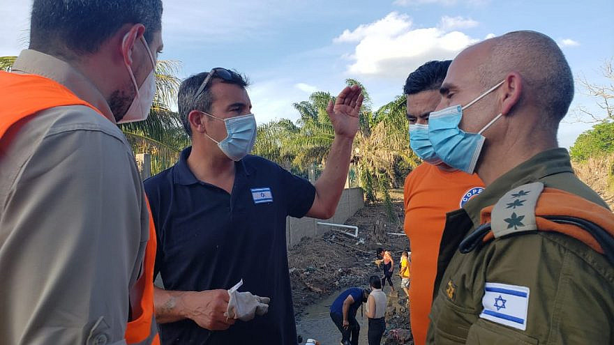 The two Category 4 hurricanes, Eta and Iota, struck the Central American country in November, leaving behind mudslides and widespread devastation. Credit: Israeli Defense Ministry.