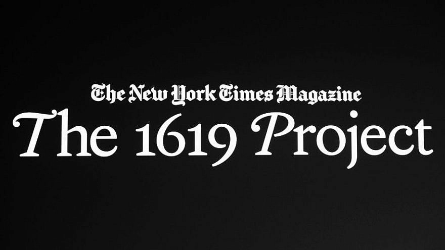 The cover for the New York Times 1619 Project. Source: Screenshot.