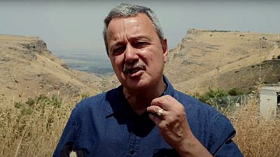 Dean Bye, head of Return Ministries, which runs the Aliyah Return Center operating at JAFI's Bikat Kinarot educational complex in the Jordan Valley. Source: YouTube.