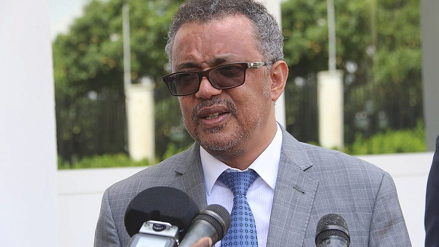 World Health Organization Director-General Tedros Adhanom Ghebreyesus, Nov. 6, 2018. Credit: MONUSCO photos via Wikimedia Commons.