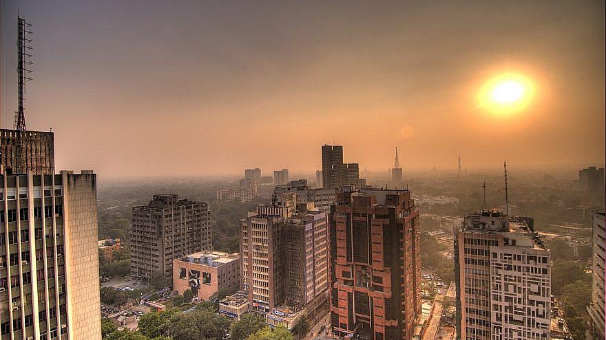 New Delhi, India. Credit: Wikipedia.