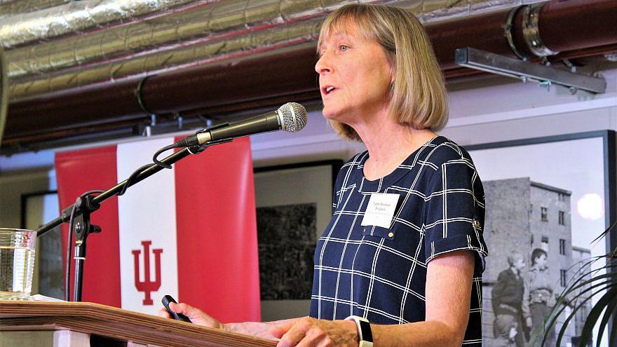 Tammi Rossman-Benjamin, co-founder and director of the California-based AMCHA Initiative. Credit: IU Europe Gateway.