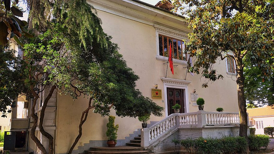 The Academy of Sciences of Albania. Credit: Pasztilla aka Attila Terbócs via Wikimedia Commons.
