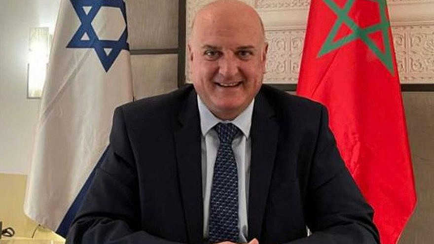 Israel's envoy to Morocco David Govrin. Source: Israel in Arabic/Twitter.