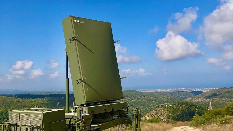The ELTA Systems Multi-Mission Radar system. Credit: Israeli Ministry of Defense.